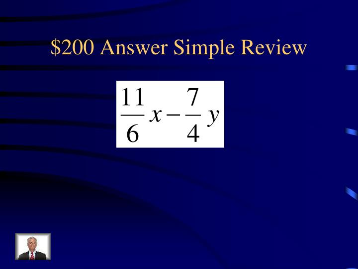 $200 Answer Simple Review