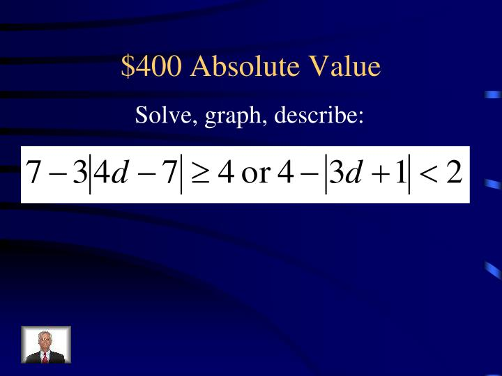 $400 Absolute Value