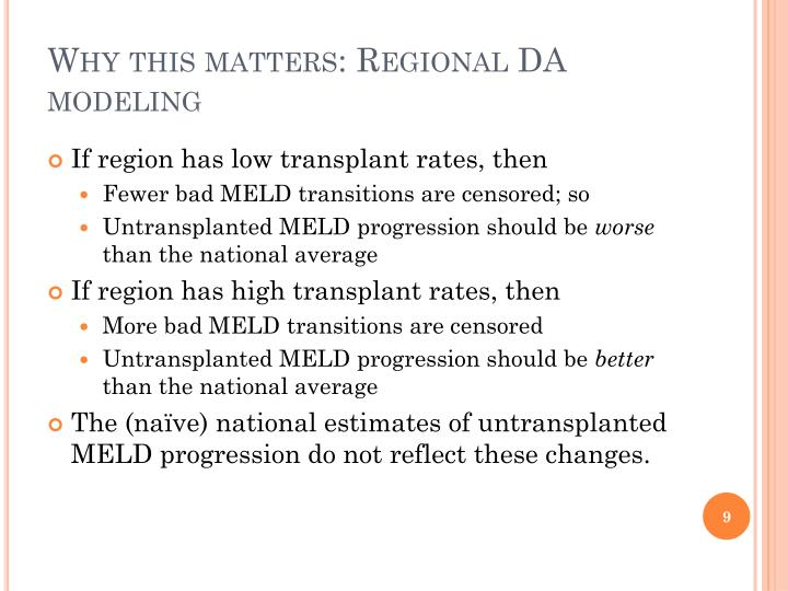 Why this matters: Regional DA modeling