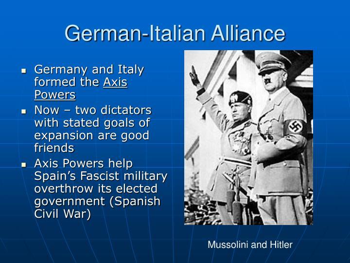 German-Italian Alliance