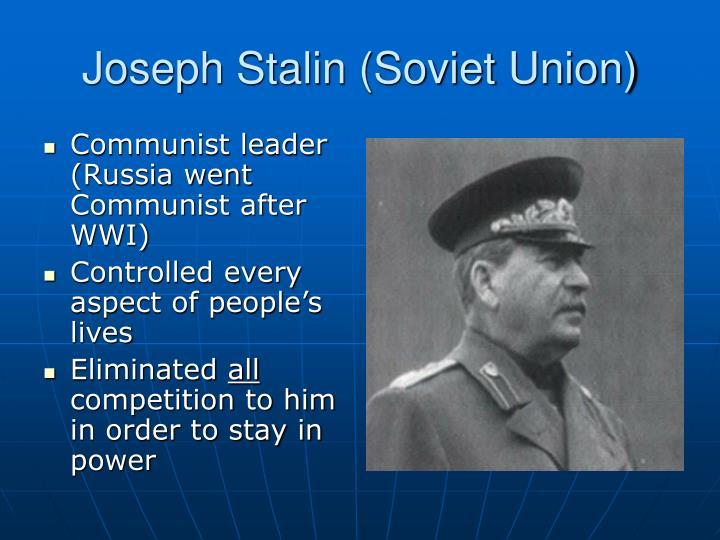 Joseph Stalin (Soviet Union)