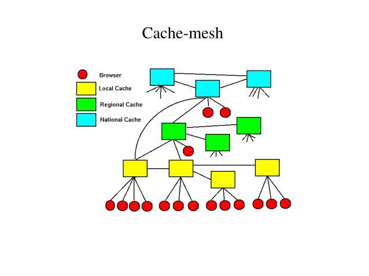 Cache-mesh