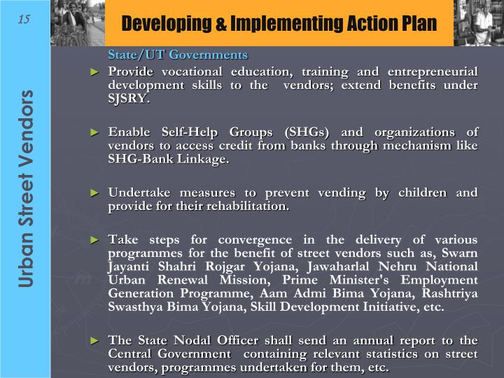 Developing & Implementing Action Plan