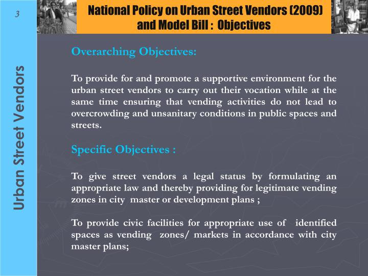National Policy on Urban Street Vendors (2009)