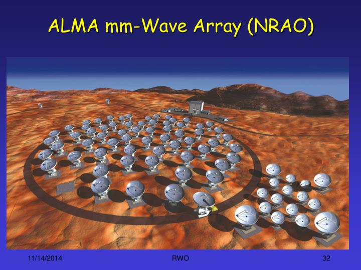 ALMA mm-Wave Array (NRAO)
