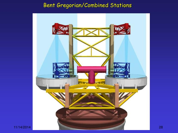 Bent Gregorian/Combined Stations