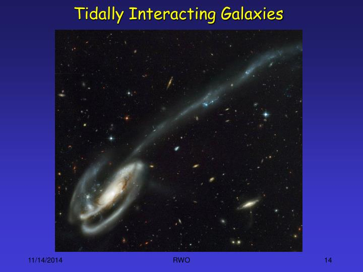 Tidally Interacting Galaxies