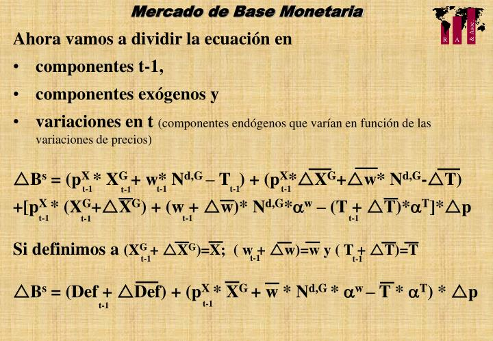 Mercado de Base Monetaria