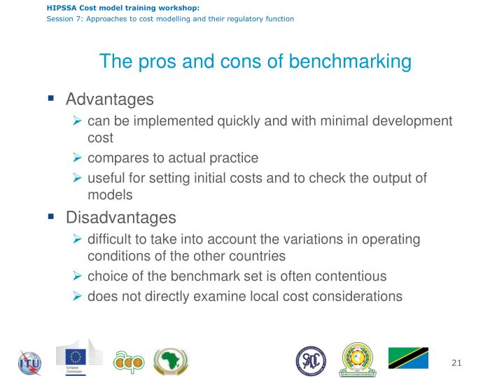 The pros and cons of benchmarking