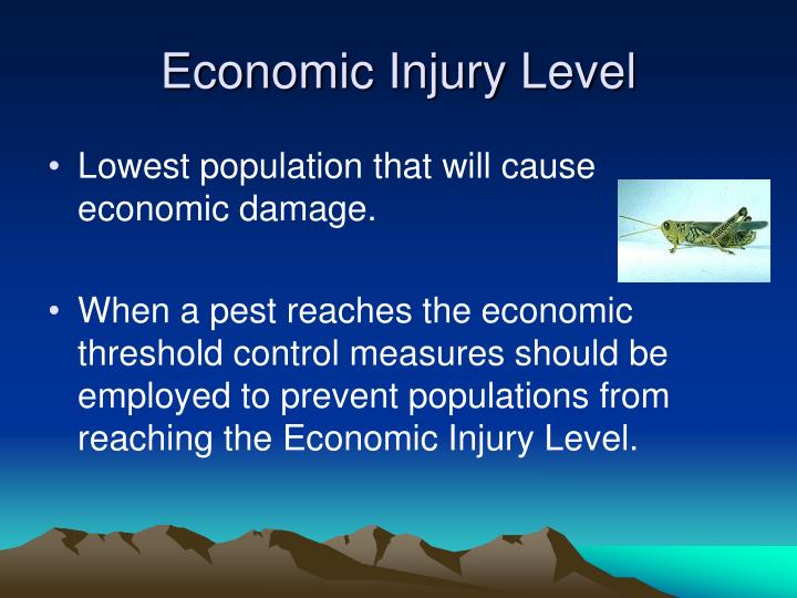 Economic Injury Level
