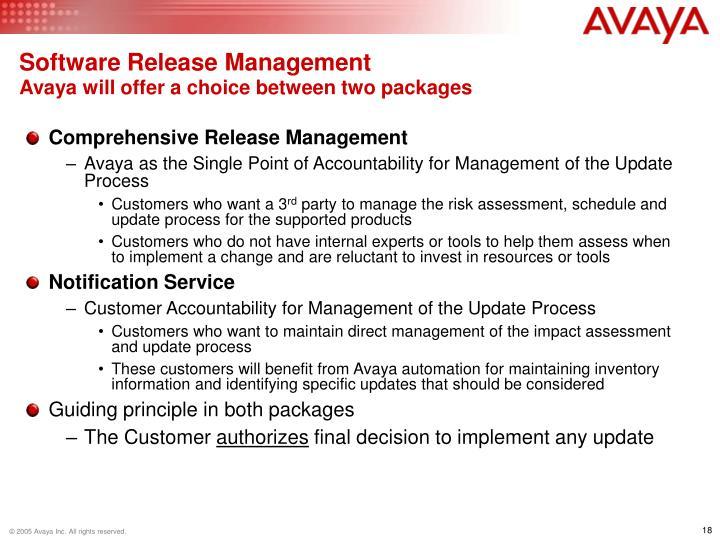 Software Release Management