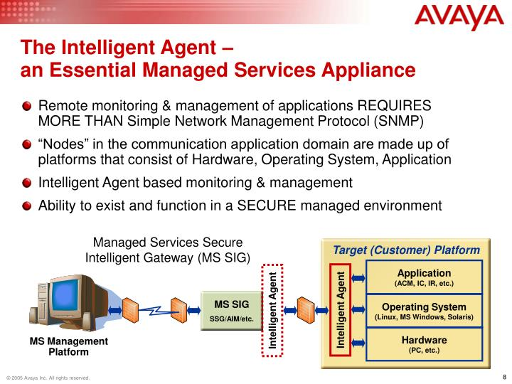 The Intelligent Agent –