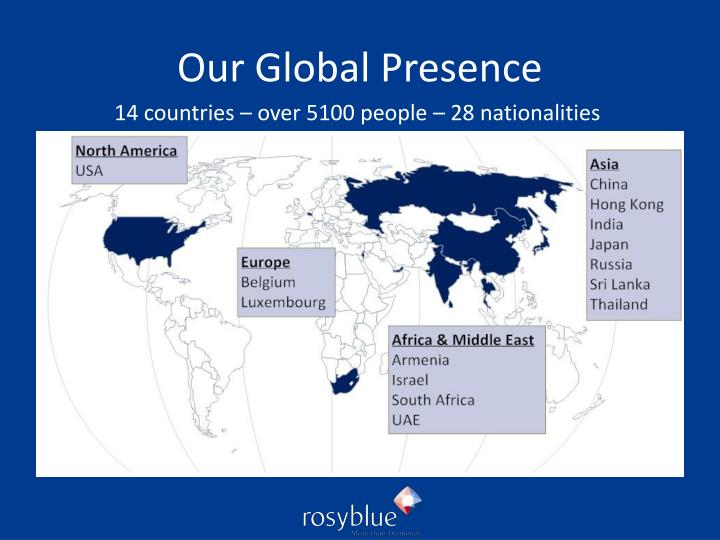 Our Global Presence