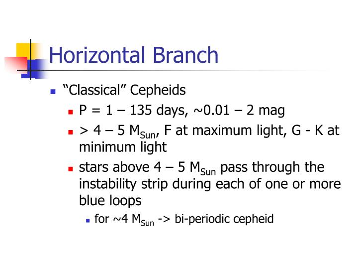 Horizontal Branch
