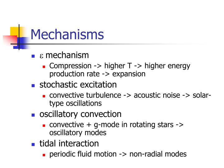 Mechanisms1