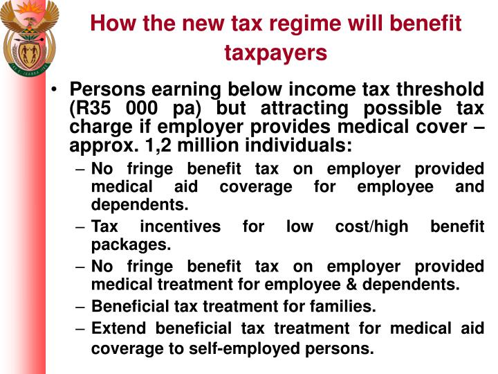 How the new tax regime will benefit taxpayers