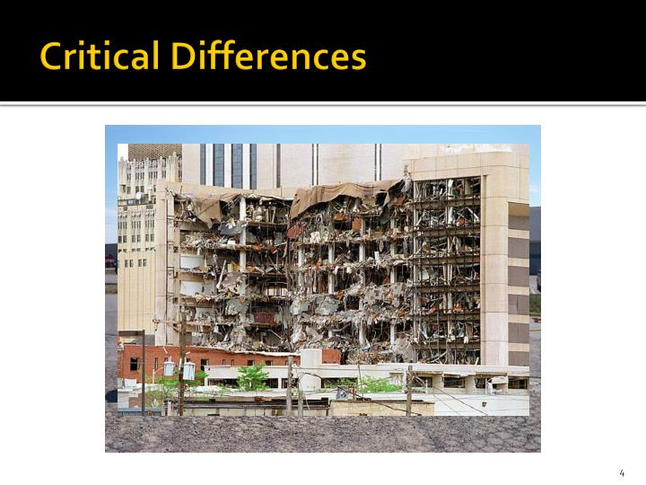 Critical Differences
