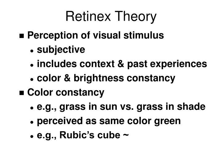 Retinex Theory