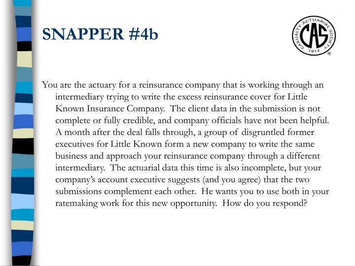 SNAPPER #4b