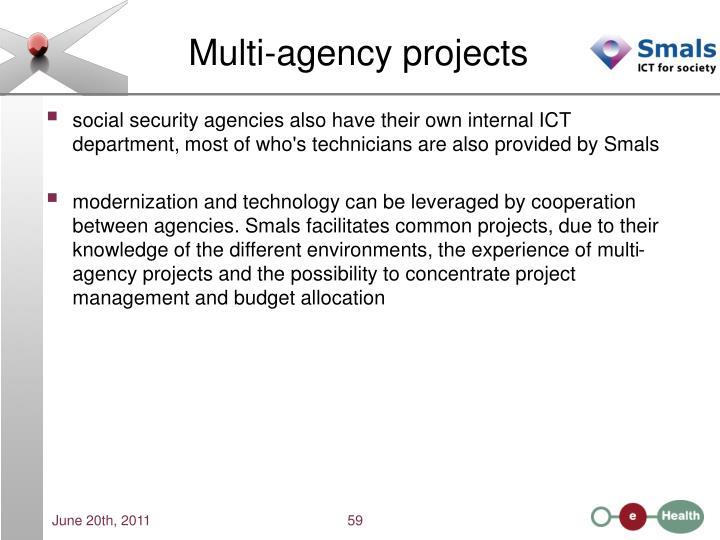 Multi-agency projects
