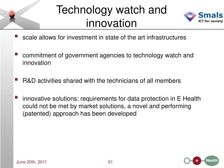 Technology watch and