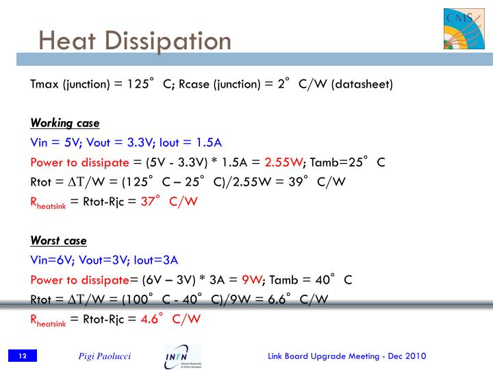 Heat Dissipation