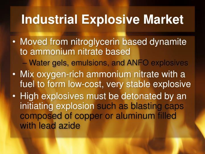 Industrial Explosive Market