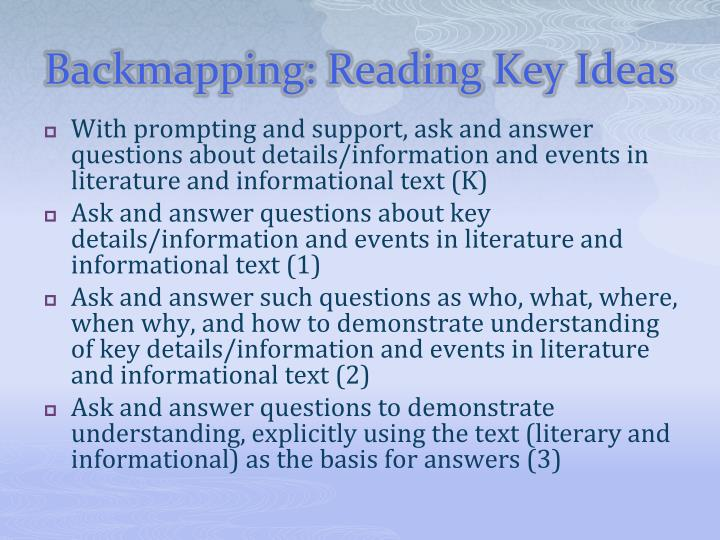 Backmapping