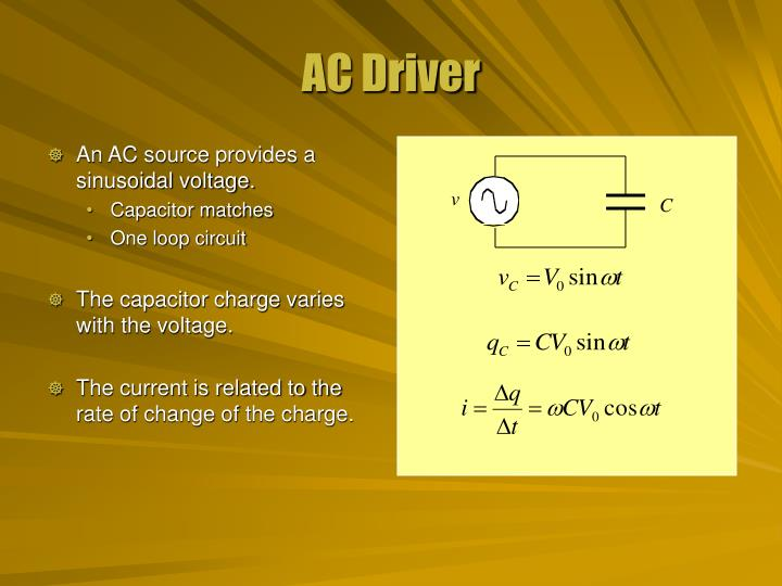 Ac driver