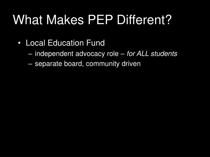 Local Education Fund