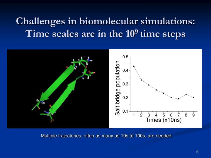 Challenges in biomolecular simulations:
