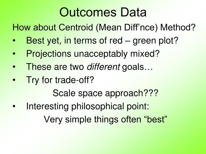 Outcomes Data