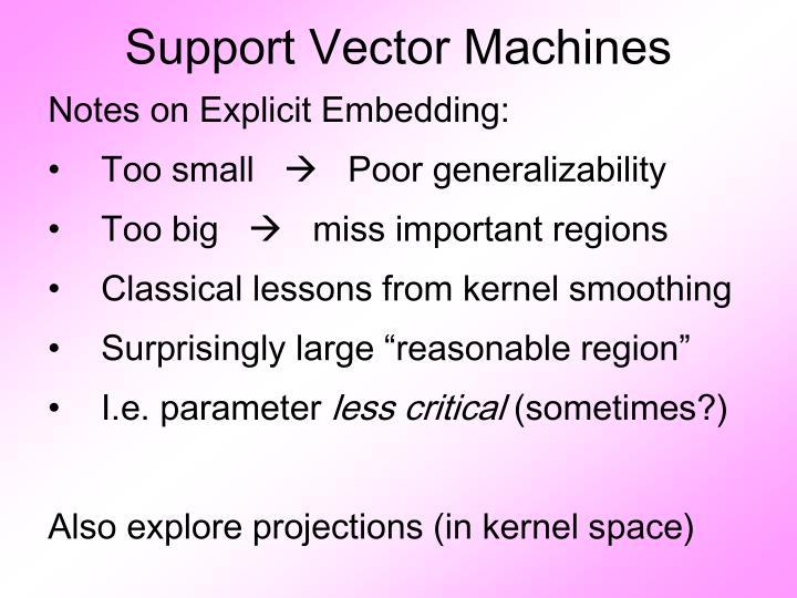 Support Vector Machines