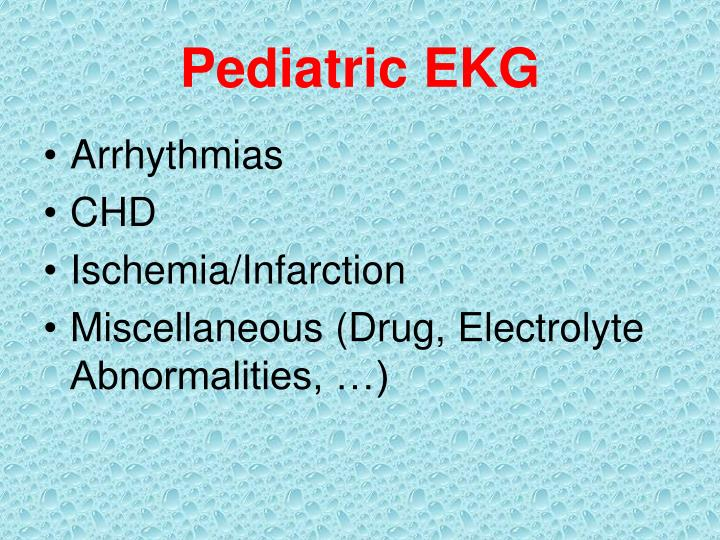 Pediatric ekg1