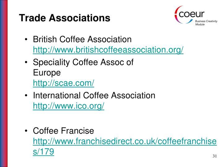 Trade Associations