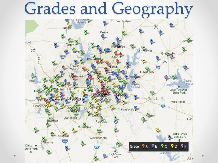 Grades and Geography