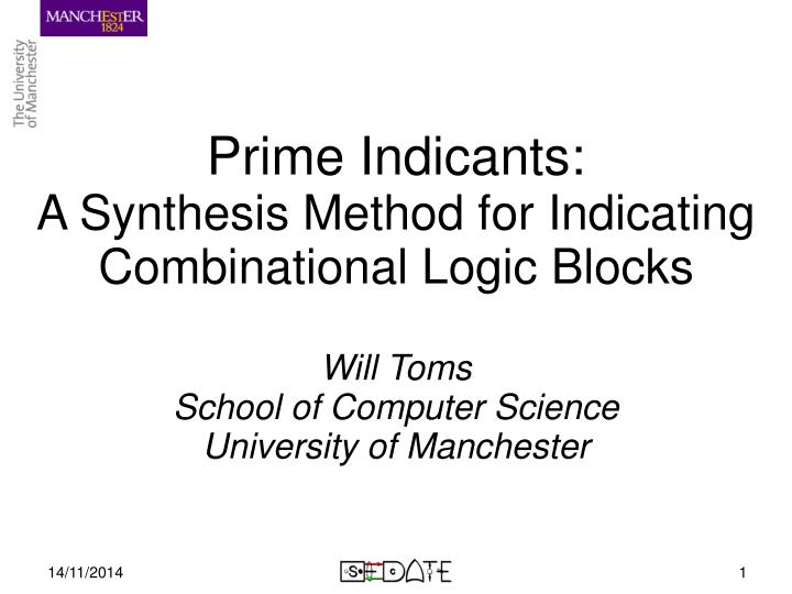 Prime Indicants:
