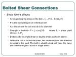 bolted shear connections2
