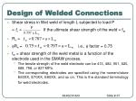 design of welded connections2