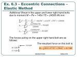 ex 6 3 eccentric connections elastic method1