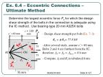 ex 6 4 eccentric connections ultimate method