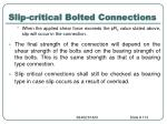 slip critical bolted connections4