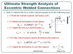 ultimate strength analysis of eccentric welded connections5