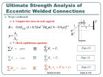 ultimate strength analysis of eccentric welded connections6