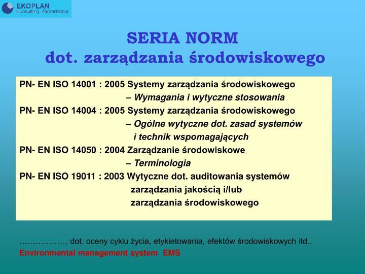 SERIA NORM