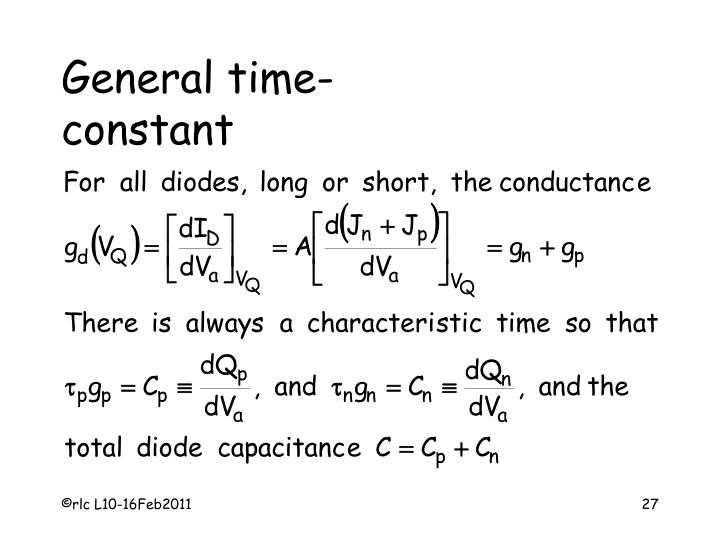 General time-