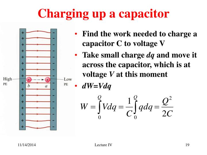 Charging up a capacitor