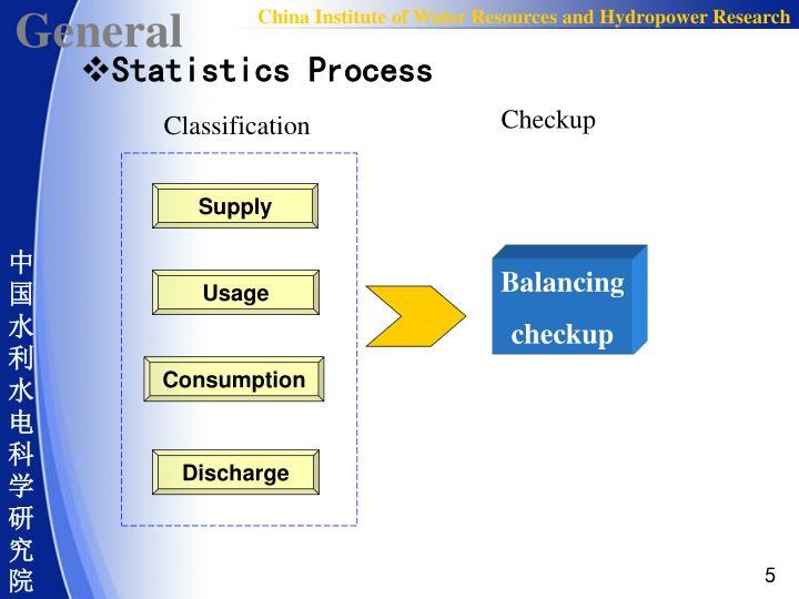 Statistics Process