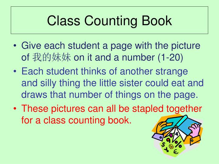 Class Counting Book