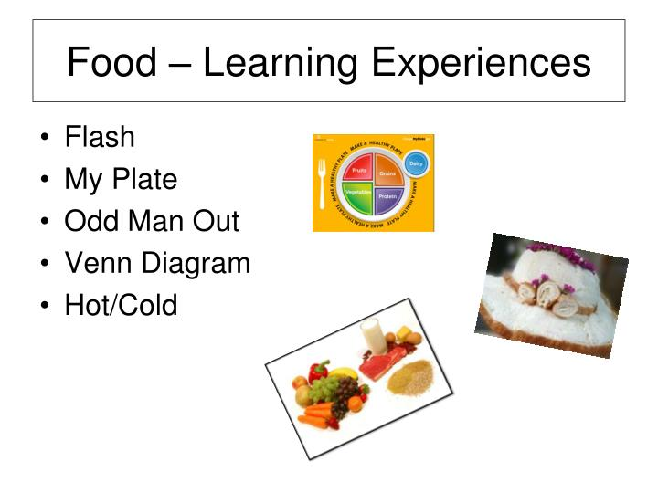 Food – Learning Experiences